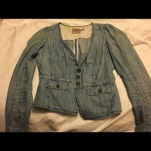 Juicy Couture jean jacket/blazer